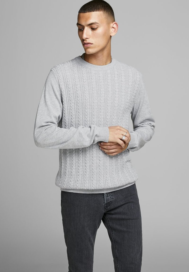 Jack & Jones PREMIUM - Jersey de punto - cool grey