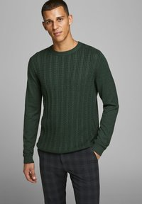 Jack & Jones PREMIUM - Neule - darkest spruce - 0