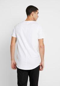 Jack & Jones PREMIUM - JPRSMART ZIP TEE CREW NECK - T-Shirt basic - white - 2