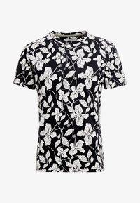 Jack & Jones PREMIUM - JPROSCAR TEE REGULAR FIT - Print T-shirt - caviar - 3