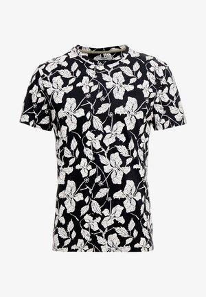 JPROSCAR TEE REGULAR FIT - T-shirt print - caviar