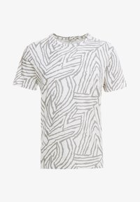 blanc de blanc/light grey melange