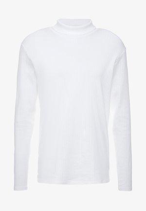 JPRLUTON LS TEE TURTLE NECK  - Camiseta de manga larga - white