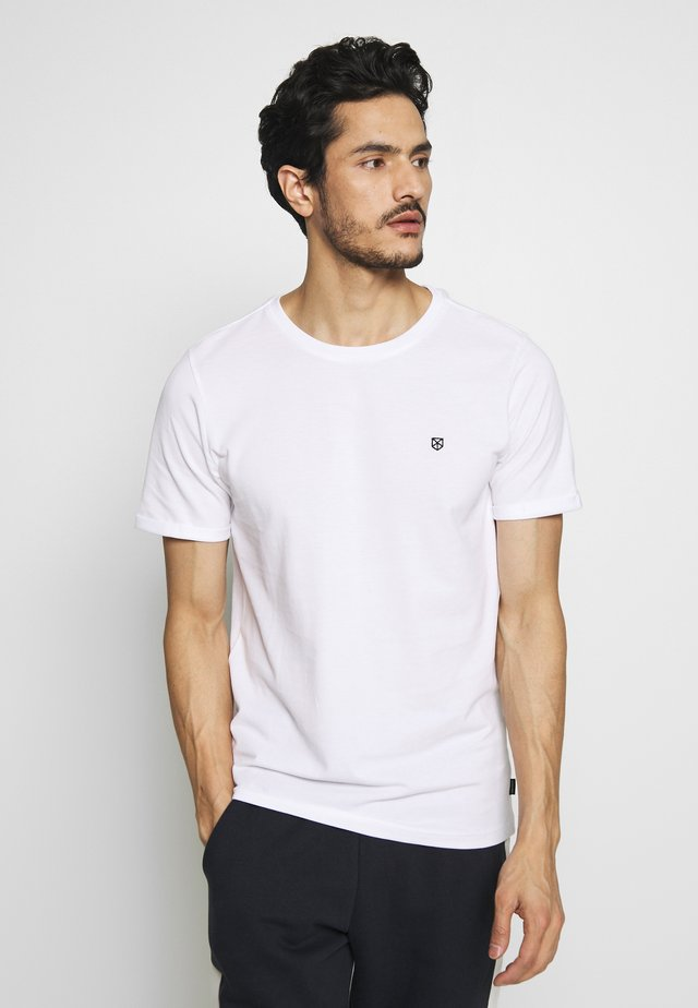 JPHARDY TEE CREW NECK  - T-shirt basic - white