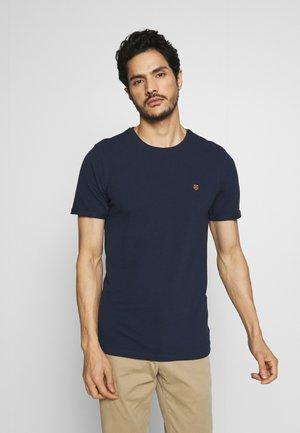 JPHARDY TEE CREW NECK  - T-Shirt basic - black iris