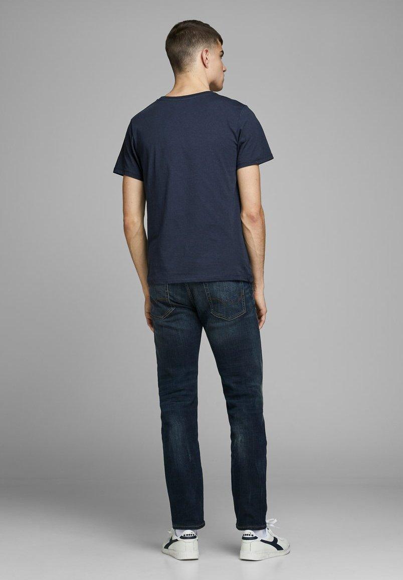 Jack & Jones PREMIUM T-shirt z nadrukiem - dark blue