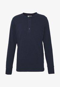 Jack & Jones PREMIUM - GRANDDAD - Bluzka z długim rękawem - navy blazer - 4