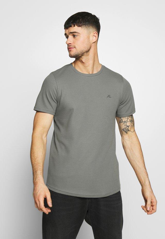 JPRFRANCO  CREW NECK - T-Shirt basic - sedona sage