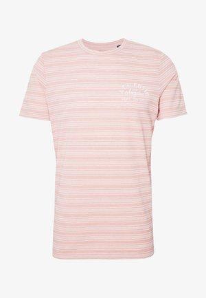 JPRBL SAKAR TEE CREW NECK - T-shirt print - evening sand