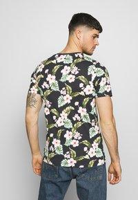 Jack & Jones PREMIUM - JPRDALE TEE CREW NECK SLIM FIT - Print T-shirt - black - 2