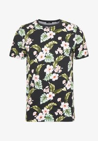 Jack & Jones PREMIUM - JPRDALE TEE CREW NECK SLIM FIT - T-shirt med print - black - 3