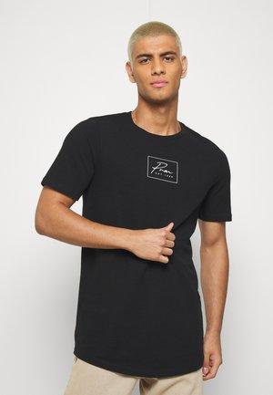 JPRBLA CORREL TEE  - T-shirt print - black