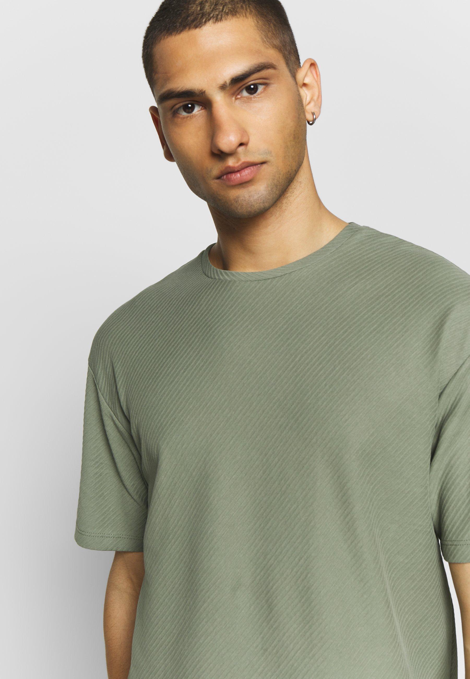 Jack & Jones PREMIUM JPRBLA JOE TEE CREW NECK - Basic T-shirt - wind chime