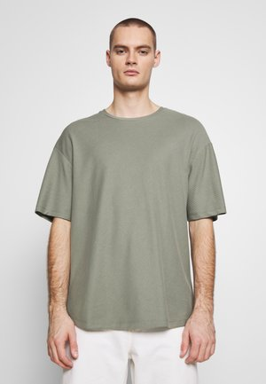 JPRBLA JOE TEE CREW NECK  - T-shirt basic - agave green