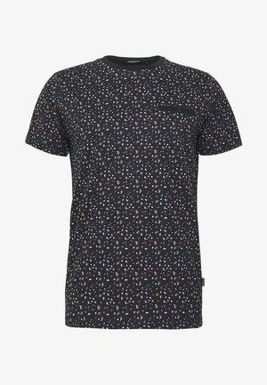 JPRBLACKPOOL BLA TEE - Camiseta estampada - black/reg
