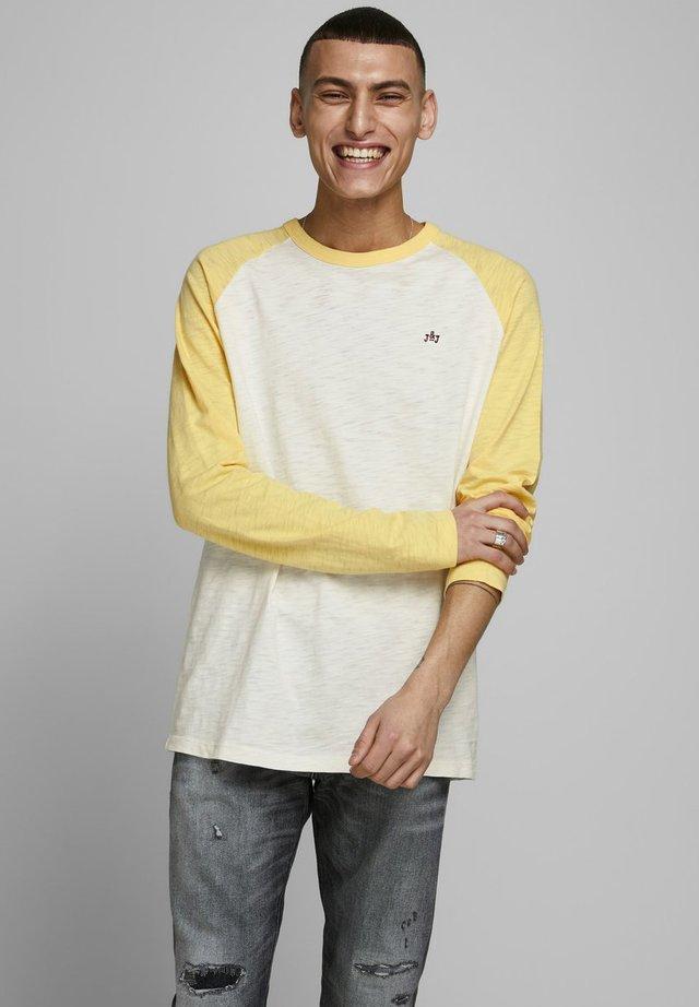 LONGSLEEVE COLOURBLOCKING - Pitkähihainen paita - sun yellow