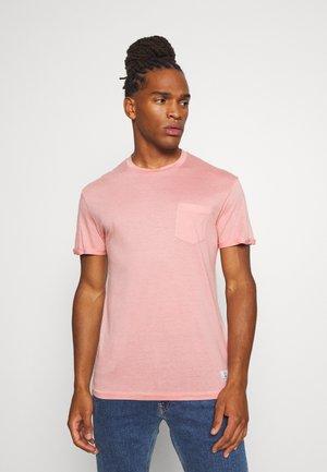 JPRVINCENT  - Jednoduché triko - rose tan