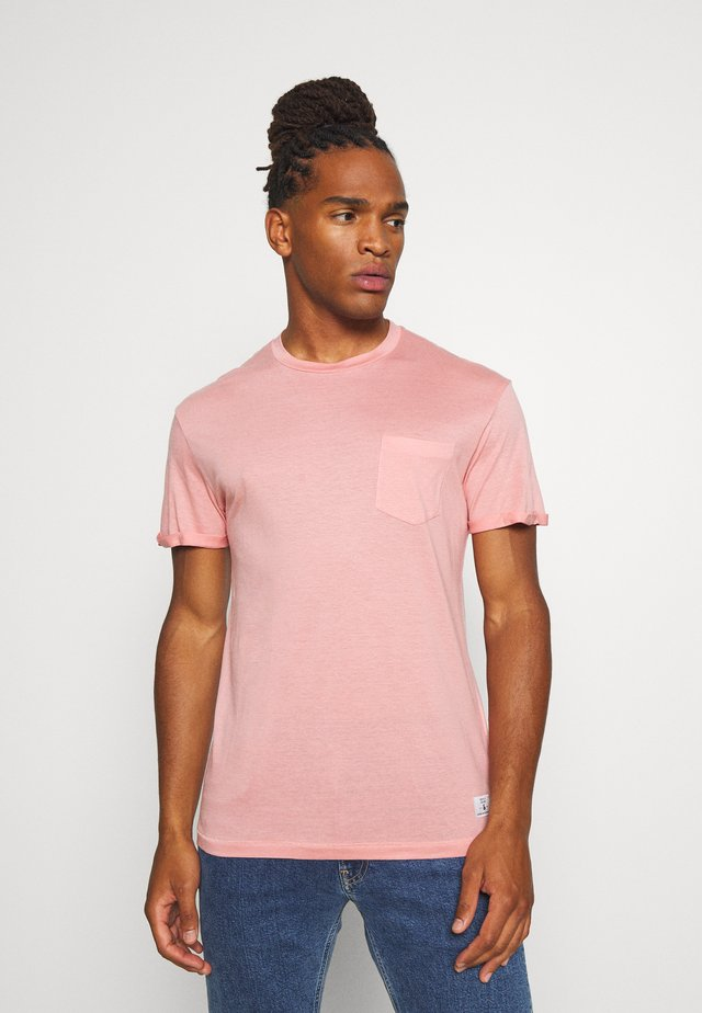 JPRVINCENT  - T-shirt basic - rose tan