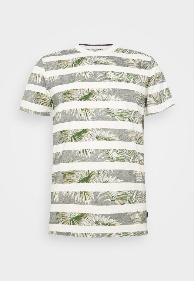 JPRDUSTIN  - T-shirt print - rainy day