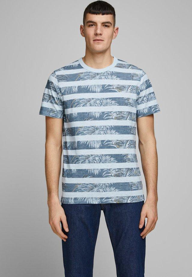 JPRDUSTIN  - Print T-shirt - soul blue