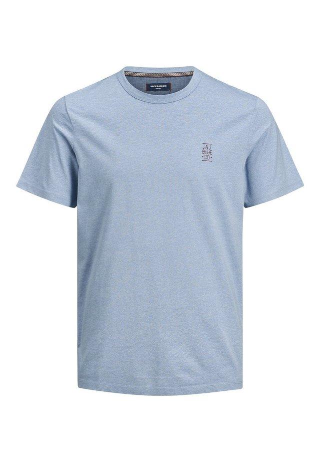 JACK & JONES PREMIUM T-SHIRT RUNDHALSAUSSCHNITT - Basic T-shirt - soul blue