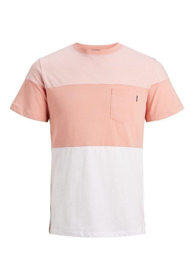 COLOURBLOCKING - T-shirt print - rose tan