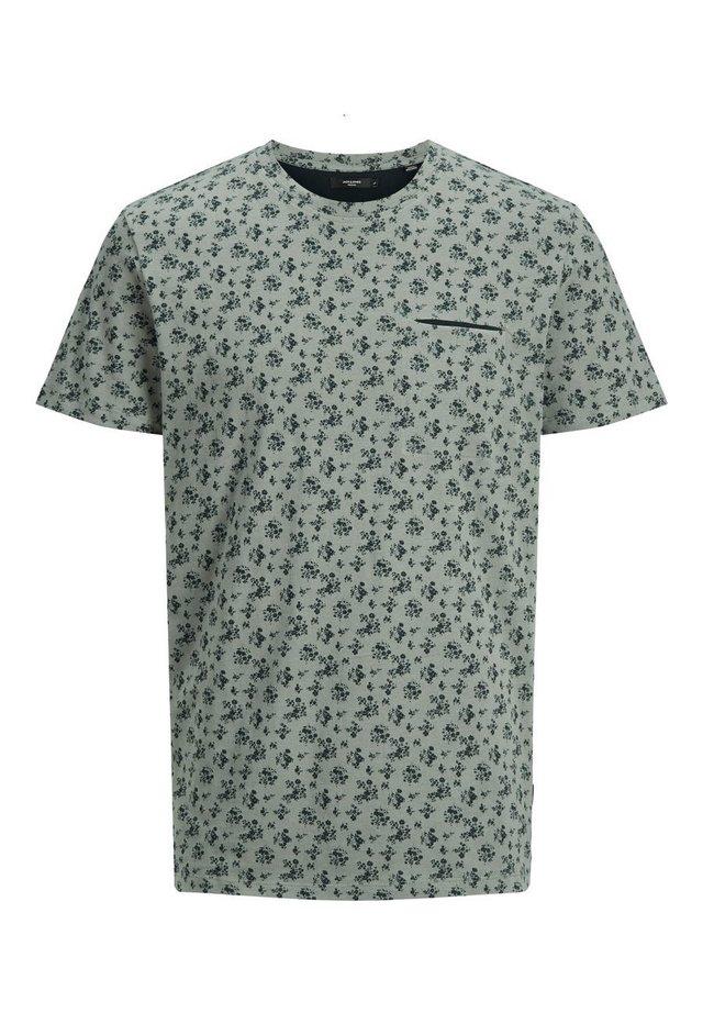 T-shirt print - agave green