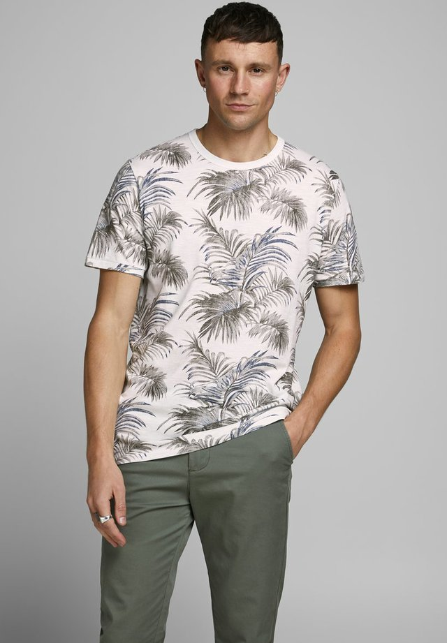 Print T-shirt - mystic blue