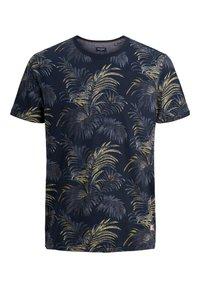 Jack & Jones PREMIUM - T-shirt med print - navy blazer - 0