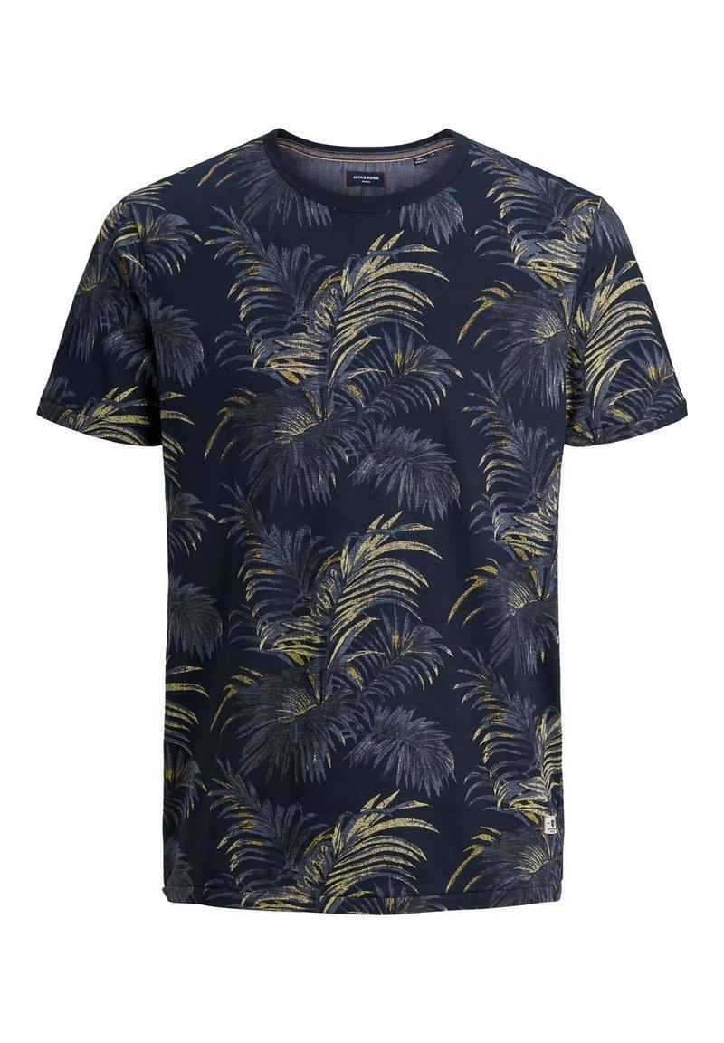 Jack & Jones PREMIUM - T-shirt med print - navy blazer