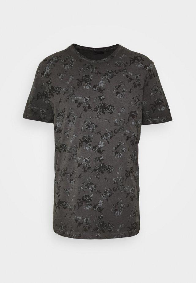 JPRBLASHAWN TEE CREW NECK - T-shirt print - black