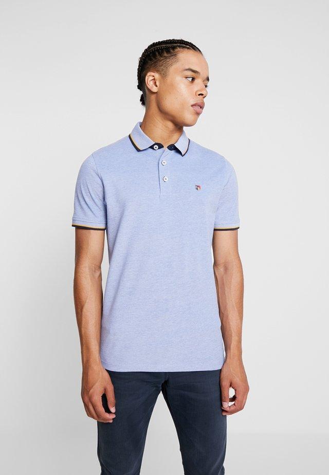 Poloshirt - bright cobalt/white