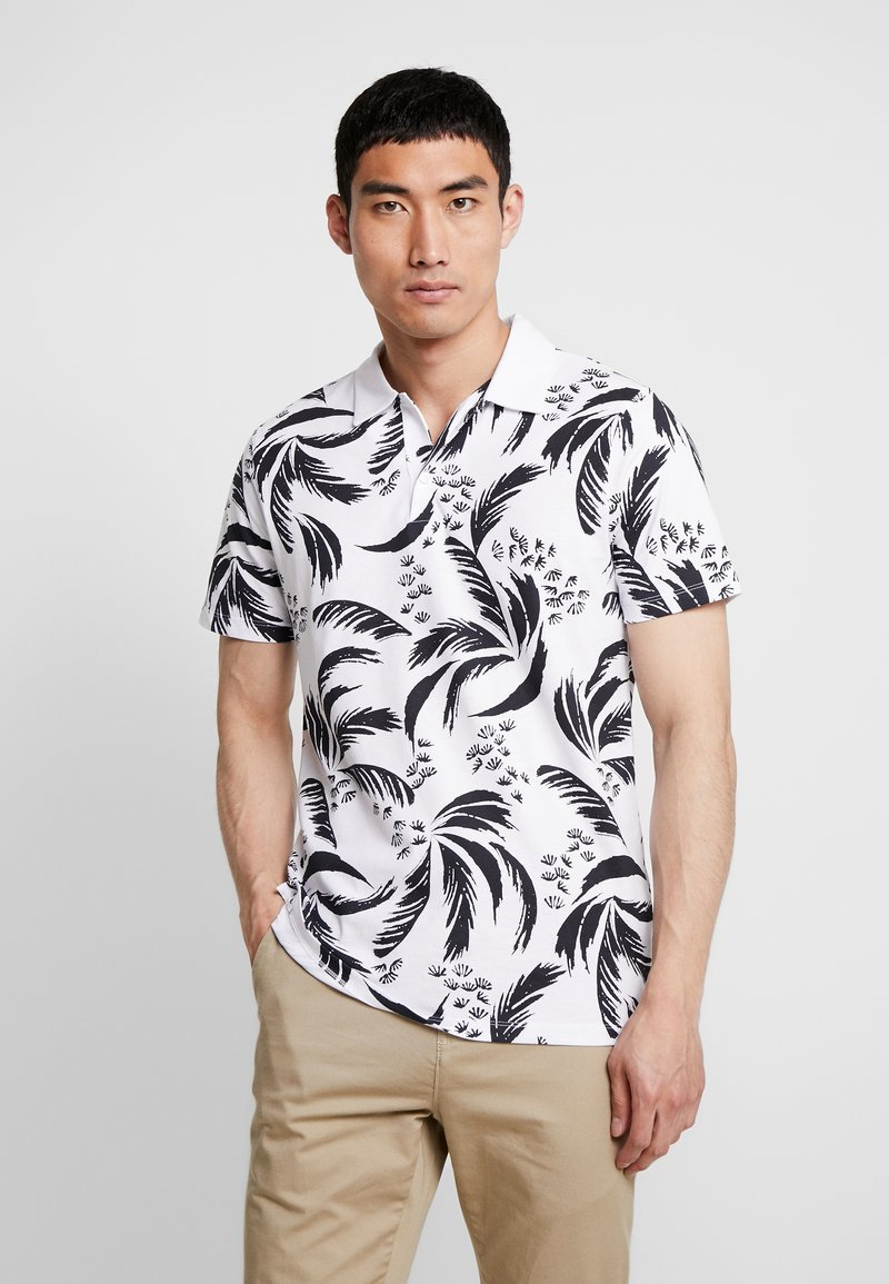 Jack & Jones PREMIUM - JPRFLORAL - Piké - white