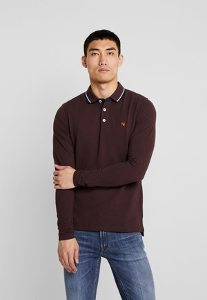 JPRPAULOS - Polo shirt - fudge
