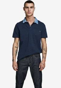 Jack & Jones PREMIUM - Koszulka polo - navy blazer - 0