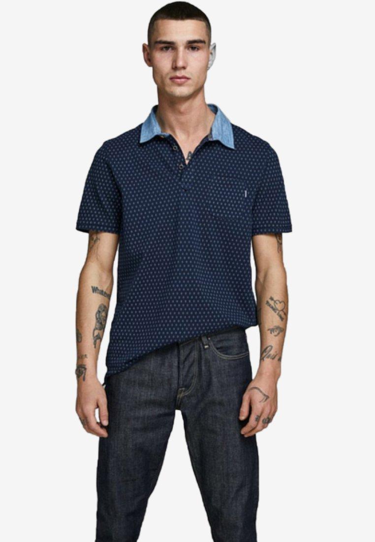 Jack & Jones PREMIUM - Koszulka polo - navy blazer