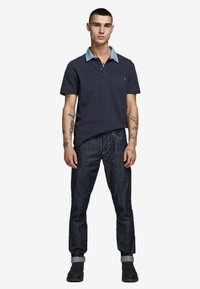 Jack & Jones PREMIUM - Koszulka polo - navy blazer - 1