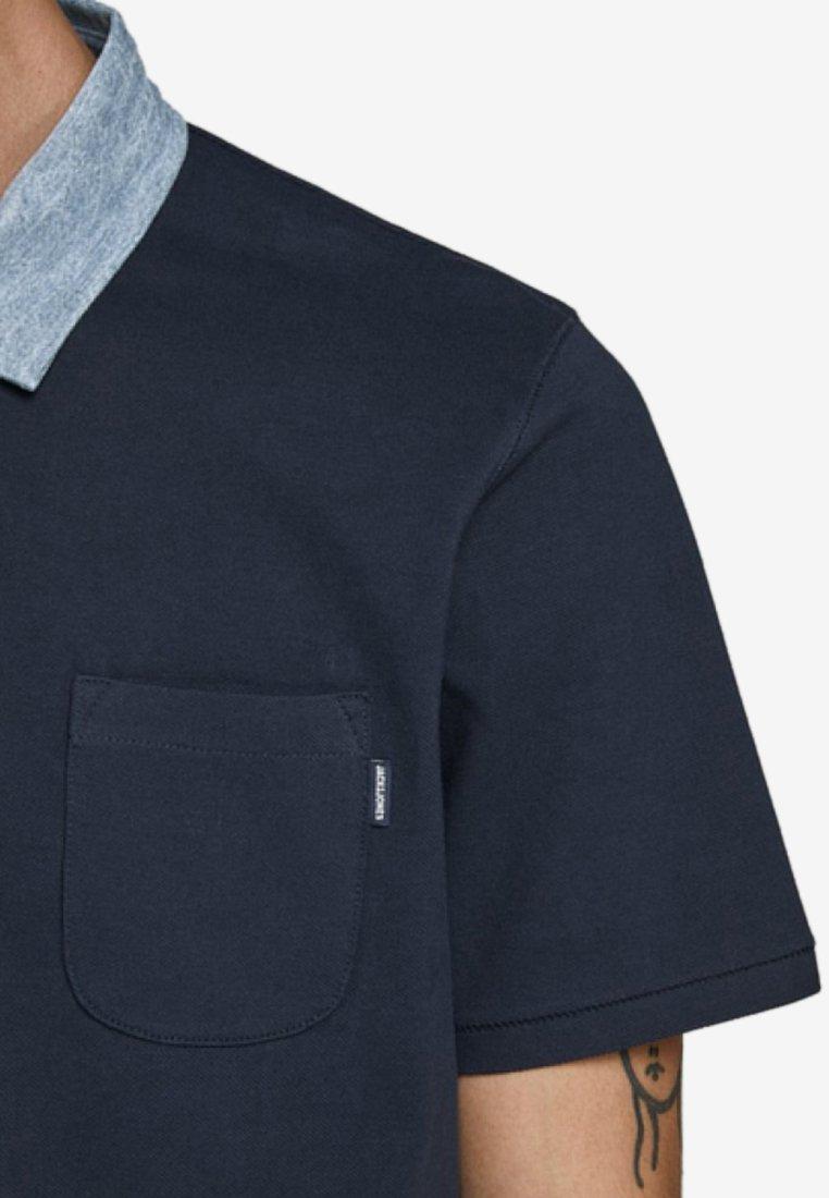 Jack & Jones PREMIUM Koszulka polo - dark blue