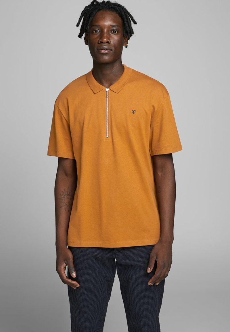 Jack & Jones PREMIUM - Polo - light brown