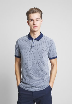 JPRNICK - Polo shirt - denim blue/white