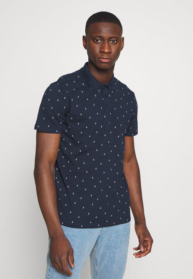 JPRTRISTAN BLA - Poloshirt - navy blazer