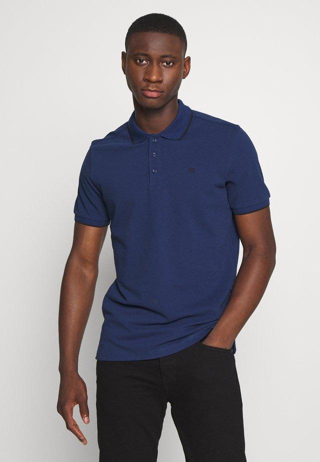 JPRAXEL  - Polo shirt - blue depths