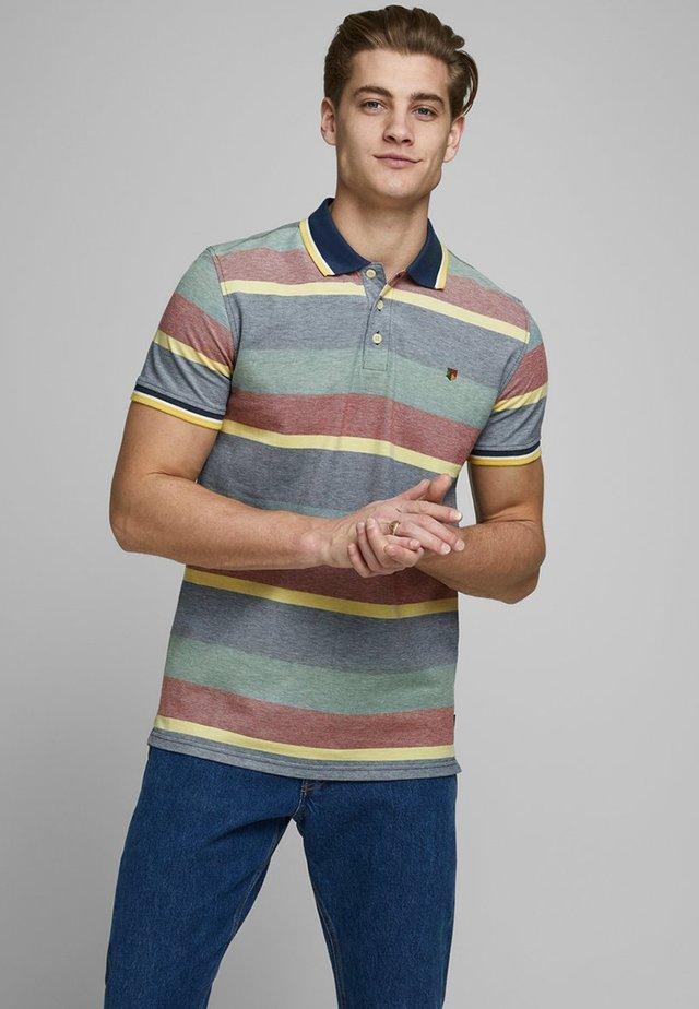 STREIFEN - Poloshirt - denim blue