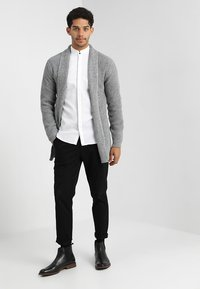 Jack & Jones PREMIUM - JPRKUNE - Cardigan - light grey melange - 1