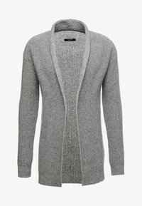 Jack & Jones PREMIUM - JPRKUNE - Cardigan - light grey melange - 4