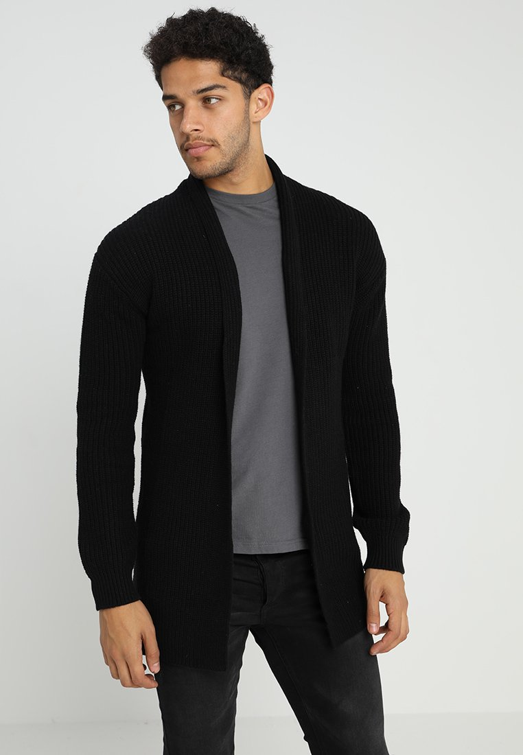 Jack & Jones PREMIUM - JPRKUNE - Strickjacke - black