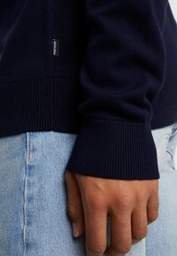 Jack & Jones PREMIUM - JPRRAW CREW NECK - Sweter - white - 5