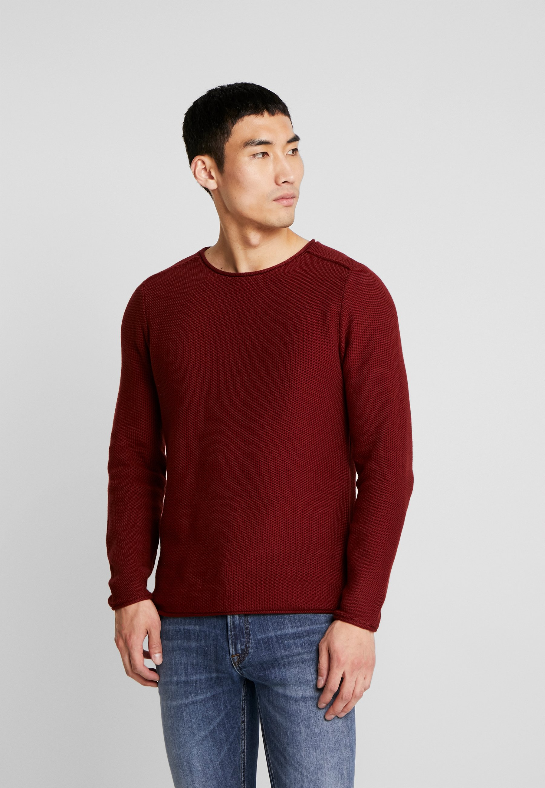Jack & Jones PREMIUM JPRTURN- Strickpullover fired brick