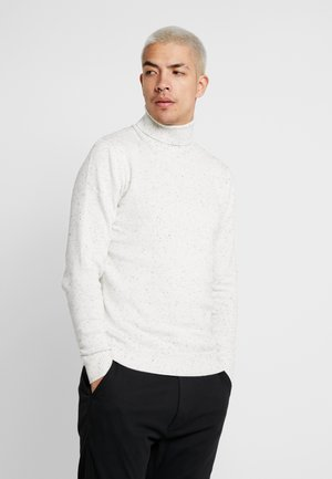 JPRAIDEN ROLL NECK - Sweter - cloud dancer