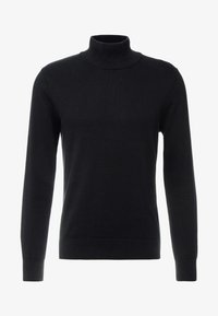 Jack & Jones PREMIUM - JPRLARS HIGH NECK - Pullover - black - 3
